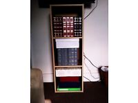FREE STANDING OR HANG TO THE WALL DISPLAY UNIT, BOOK SHELF, CUPBOARD, SIDE BOARD