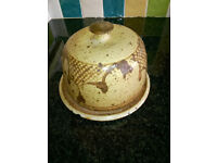 Peter Arnold Alderney Pottery Cheese Dish