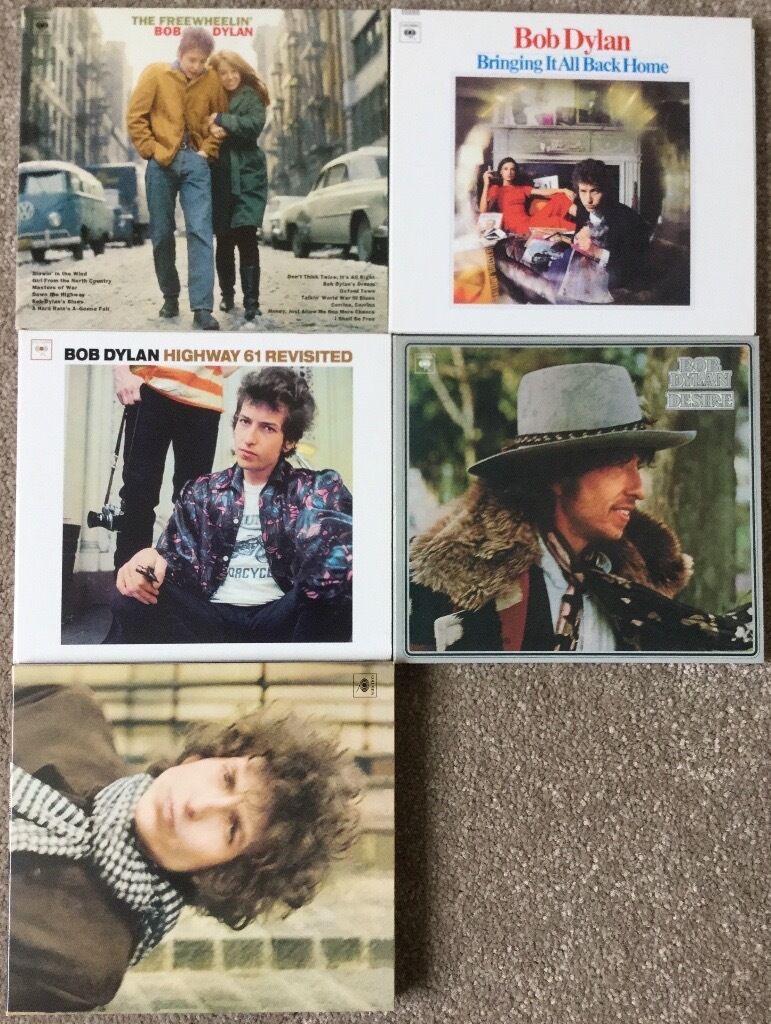 Bob Dylan SACD Collection (5 Albums, 6 Discs) Like Newin Shrewsbury, ShropshireGumtree - Bob Dylan SACD Collection (5 Albums, 6 Discs) Like New! Hybrid discs that contain both CD and SACD layers. Bob Dylan Bringing It All Back Home Bob Dylan The Freewheelin Bob Dylan Bob Dylan Desire Bob Dylan Highway 61 Revisited Bob Dylan Blonde on...