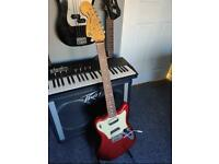 Fender Pawnshop Supersonic (Apple Red Flake)