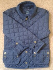 Ralph Lauren [Polo] – Quilted Equestrian / Barn Jacket (Child size 6 - in Blue).