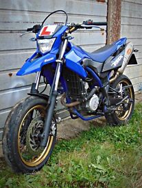 For sale is my Yamaha wr125x 10k on the clocks loads of history! Loads of extras