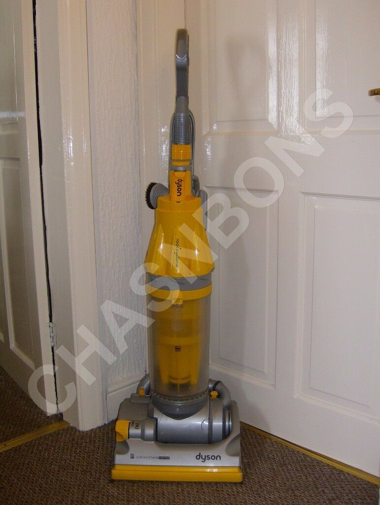 DYSON DC07 YELLOW HEPA FILTER MULTI FLOOR UPRIGHT VACUUM CLEANER