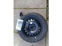 Renault Megane 2 Mk2 Spare Wheel and Bolts, 205/55/16 Tyre. Unused
