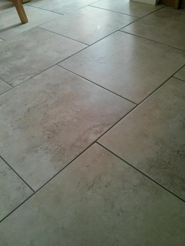 Homebase Pietra Oyster Porcelain Floor Tiles In Bath