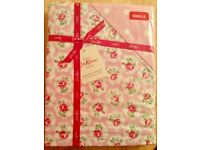 CATH KIDSTON BEAUTIFUL PURE COTTON BED LINEN. VERY RARE DISCONTINUED PINK 'PROVENCE ROSE ' ICONIC