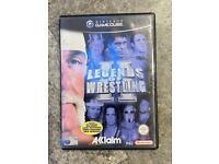 Nintendo GameCube legends of wrestling 2 game