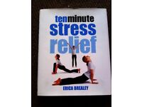 ORIGINAL BRAND NEW 'TEN MINUTES STRESS RELIEF' MUST HAVE BOOK THAT REALLY WORKS