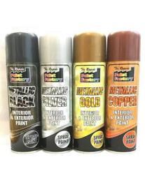 Brand New Gold metallic spray paint