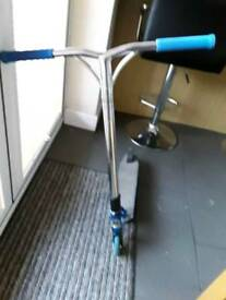 Mgp vx7 scooter chrome/blue