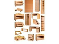 Flat Pack furniture Construction