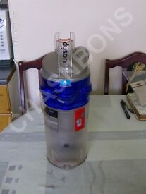 DYSON DC18 DIRT COLLECTION BIN AND CYCLONE BLUE