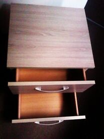 BRAND NEW TRULY LOVELY VERY VERSATILE ORIGINAL CHEST WITH TWO EASY CLOSE DRAWS