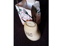 BRAND NEW AND ORIGINAL EVERGREEN GIFT CANDLE IN THE STONE SHAPE BASE