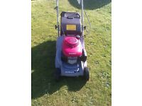MAY SWAP honda hrb 425 hydrostatic rear roller petrol lawnmower, just had full service