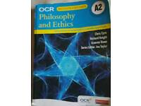 OCR RE Philosophy & Ethics A2 Study aid