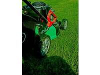 Lawn mowing and garden maintenance services