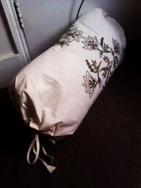 TRULY LOVELY VERSATILE VERY GOOD QUALITY 100% COTTON LONG TUBE CUSHION