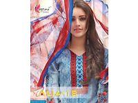 KESARI AALIA VOL-18 WHOLESALE BEST DRESS MATERIAL MARKET