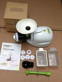L'Equip Omni Juicer. Only used a few times. Very good condition.