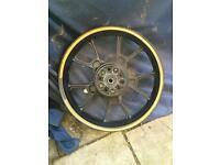 Wk 125 rr rear wheel