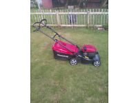 spotless mountfield petrol lawnmower collection bag ,, no mower just bag new 3 piece type