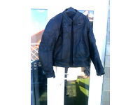 Frank Thomas bike jacket