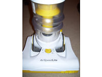 Zanussi AirSpeed Lite Hoover with tools No bag