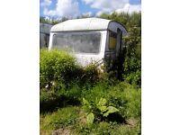 Retro 2 birth 1960's Caravan (needs work) £150 ono
