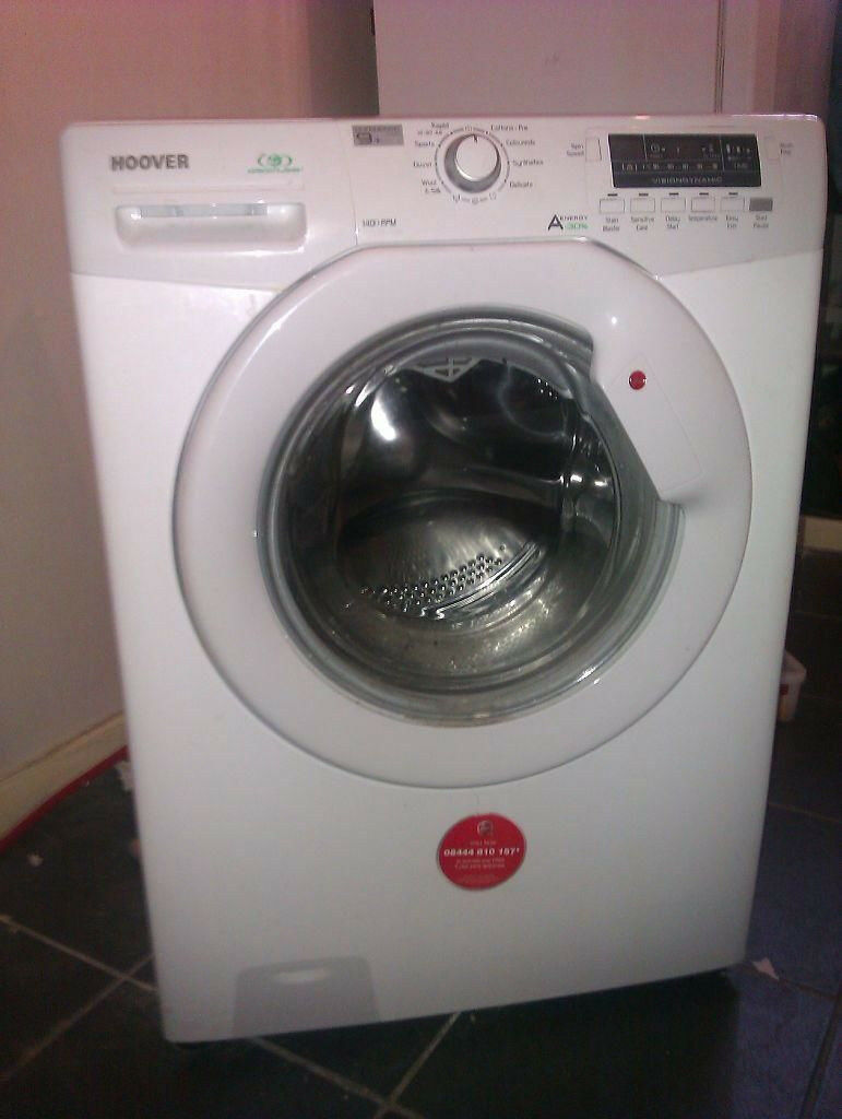 Hoover DYN8144D 8kg 1400 Spin White LCD A+ Rated Washing Machine 1 YEAR GUARANTEE FREE FITTING