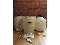 Beer Making Barrels & Equipment Kit - Excellent Condition