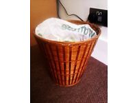 LOVELY ORIGINAL STANDARD SIZE WICKER PAPER BIN BASKET
