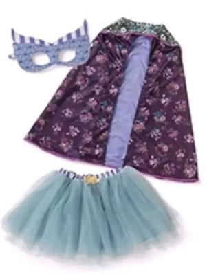 Matilda Jane CALLING ALL SUPERHEROES Costume Small Fairy Halloween 2 4 6 NWT