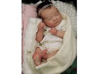 Beautiful Reborn baby girl 'Laila' - Bountiful Baby Certificate - by Kayo Babz