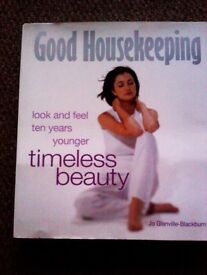 ORIGINAL BRAND NEW FAMOUS 'GOOD HOUSEKEEPING' TIMELESS BEAUTY - EVERGREEN AND MUST HAVE BEAUTY BIBLE