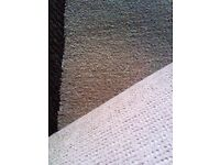 BRAND NEW CLEAN CARPET CUT OFF AS A RUNNER OR LONG RUG IN CREAMY YELLOWY COLOUR
