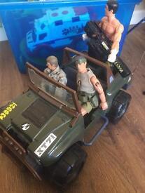 Jeep army toy
