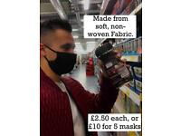 £2. 00 @@@@ SALE @@@ Face mask handmade washable very good quality