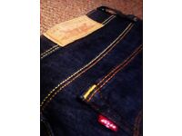 TRULY LOVELY EVERGREEN ORIGINAL LEVIS JEANS BOOT CUT SMALL SIZE 6