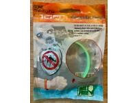 Gone Travelling Mosquito Repellent Bracelet Band, Green, Weight: approx. 6g