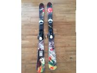 Head Caddy Junior Freestyle Twin Tip Skis 141 cm