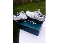 ECCO ladies golf shoes..size 6 only ..only £65 ono
