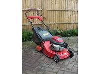 Castel Honda petrol self propelled lawnmower