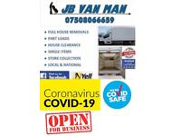 JB HOUSE REMOVALS & VAN MAN SERVICE - LARGE LUTON REMOVAL VAN & TWO MAN TEAM - COVID SAFE ✔️