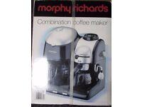 morphy richards combi coffee maker