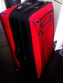 TRULY LOVELY STURDY LUXURIOUS ORIGINAL SWISS TROLLEY CASE