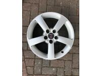 SET OF SAAB ALLOY WHEELS 5X110 ET41 17 INCH