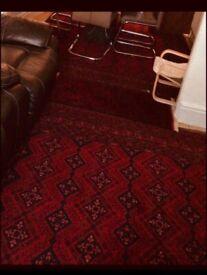 Afghan handwoven carpets