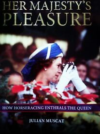 BRAND NEW ORIGINAL HER MAJESTY PLEASURE BOOK ABOUT OUR PRIVATE QUEEN