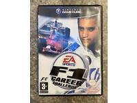 Nintendo GameCube F1 career challenge game